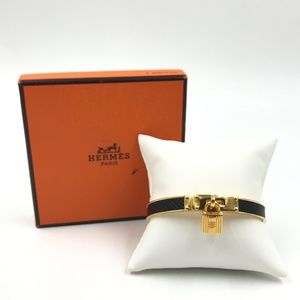 Authentic Hermes Kelly Lock Cadena Bracelet